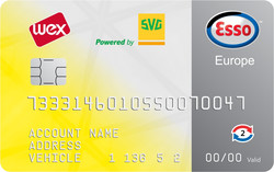 SVG Esso Card
